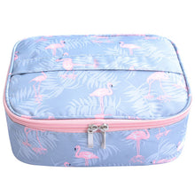 Neceser waterproof Women Makeup bag Cosmetic bag Case Travel Make Up Toiletry bag Organizer Storage pouch set box professional - leathernbags