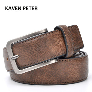 Accessories For Men Gents Leather Belt Trouser Waistband Stylish Casual Belts Men With Black Grey Dark Brown And Brown Color - leathernbags