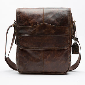 MVA Genuine Leather Bag Men Bags Small Casual Flap Shoulder Crossbody Bags Male Shoulder Handbags Messenger Mens Leather Bag Men - leathernbags