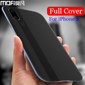 for iphonex iphone x case cover MOFi orignal hard edge silicone back for iphonex Edition new cover luxury for apple x case