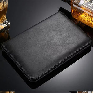 Hmsunrise For iPad Pro 12.9 Case Luxury Leather Case For Apple iPad Pro 12.9 Tablet Cover With Magnetic Auto Wake Up Sleep - leathernbags