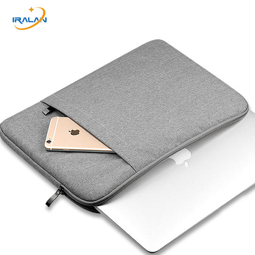 Hot Nylon Laptop Sleeve Bag For New Macbook Pro Touch Bar 13 Inch A1706 A1708 for Air 11 12 15 Pro 13.3 15.4 Retina Notebook bag - leathernbags