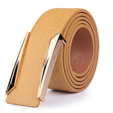 Designer solid brass buckle belt for men belts luxury top quality full grain genuine leather fashion casual hot - leathernbags