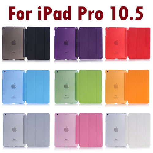 For Apple iPad Pro 10.5 inch 2017 Sleeping Wakup Ultral Slim Leather Smart Cover Case - leathernbags