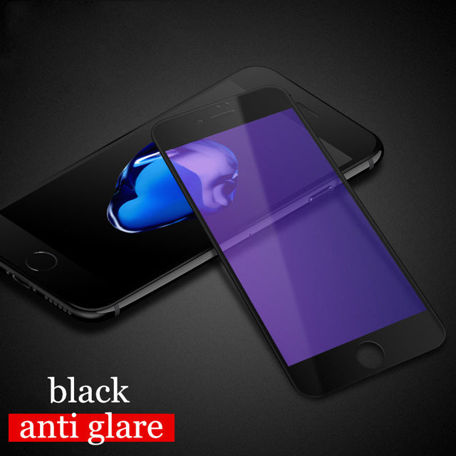 for iPhone 8 tempered glass 3D full cover screen protector for iPhone8 protective film MOFi for apple iPhone 8 Plus glass - leathernbags