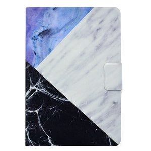 Fashion Marble Pattern Case For Apple iPad mini 1 2 3 Case Smart Cover Funda Tablet PU Leather Flip Stand Shell Sleep&Wake - leathernbags