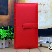 Free shipping 5 inch  Photo Album With PU Leather Cover Interleaf-Type 300 Pockets  For Wedding Lover Sweet Memory Photo Album - leathernbags