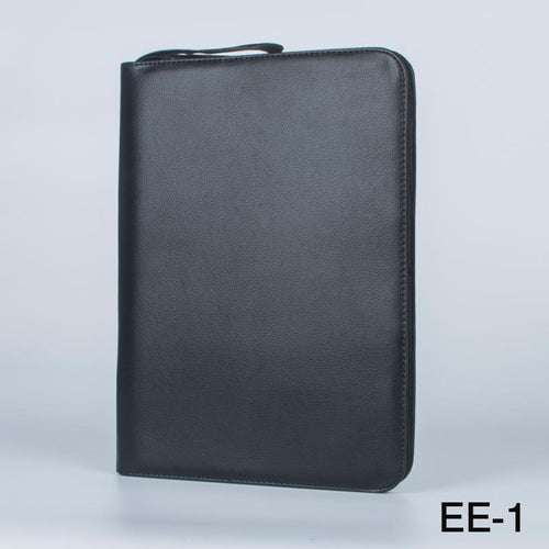 1 PC Black Fountain Pen Color PU Leather Storage Case Holder for 48 Pens - leathernbags