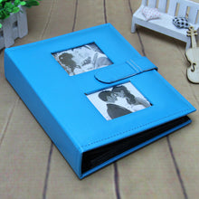 High End 4R 6 Inch Photo Album With PU Leather Cover  Interleaf-Type 200Pockets Photo Album For Wedding Lover Sweet Memory - leathernbags