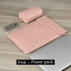 Laptop Bag for Macbook air 13 /pro 13 Laptop case for Touchbar 13 waterproof  PU Leather Sleeve bag 14 laptop tas funda portatil |  USA I USA - leathernbags