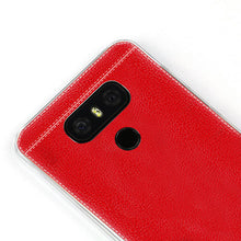 "Case for LG G6 case cover imitation back cover brown red black capa coque funda for LG G6 soft transparent edge ultra thin 5.7"" - leathernbags"