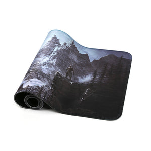 80x30cm Popular host computer stand-alone game mouse pad for the elder scrolls v skyrim large gaming mousepad 800*300mm - leathernbags