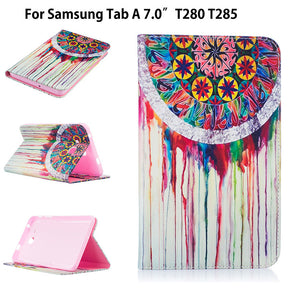Fashion Children's Cartoon Case Cover For Samsung Galaxy Tab A a6 7.0 T280 T285 SM-T280 Cases Funda Tablet Stand Leather Shell