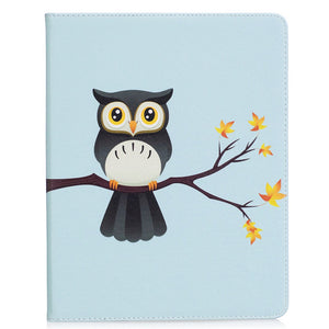 Fashion Panda Owl Pattern Case For Apple ipad 2 3 4 Smart Case Cover For iPad4 iPad 3 iPad2 Funda Tablet PU Leather Stand Shell - leathernbags