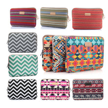 "Bohemian Design 11 12 13 14 15.6 inch Cavas Laptop Bag Notebook PC Sleeve Case Pouch for woman for hp macbook sony 11.6"" 13.3"" - leathernbags"