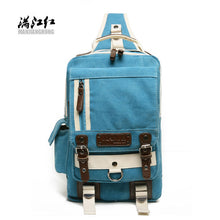 MANJIANGHONG Hot Sale Fashion Patchwork High Hipster Canvas Crossbody Bags Men Chest Travel Bag Casual Messenger Bags Knapsacks |  USA I USA