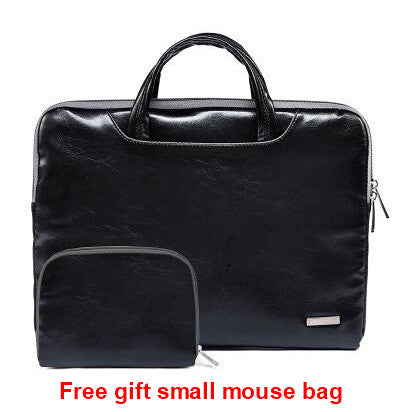 Lisen Leather Handbag Bag For Laptop 11