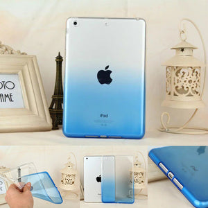 Soft Silicon TPU For Apple ipad mini 4 Case Rainbow Color Case For ipad mini 1 2 3 Cover Funda Tablet Ultra Thin Transparent |  USA I USA - leathernbags