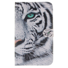 Tablet Funda Case For Samsung Galaxy Tab 3  8.0 T310 T315 SM-T310 Case Back Cover Owls Tiger Lion animal Flip PU Leather Shell |  USA I USA - leathernbags