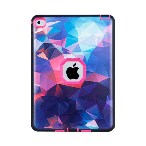 Coque iPad 6 Cover Dream Sky Drop Protection Three-Layer Plastic + Rugged Hybrid Case for iPad Air 2