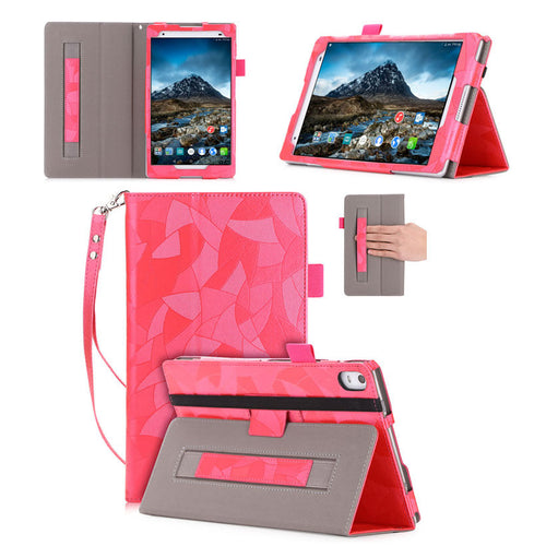 Cover Case For Lenovo Tab4 8 Plus TB-8704X TB-8704F TB-8704N Smart Cover Funda Tablet  Leather Flip Stand Skin Shell +Film+Pen