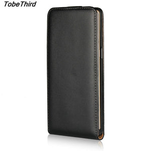 For Samsung Note 8 Case Black Vertical Flip Genuine Split Leather Mobile Phone Case for Samsung Galaxy Note 8 N950