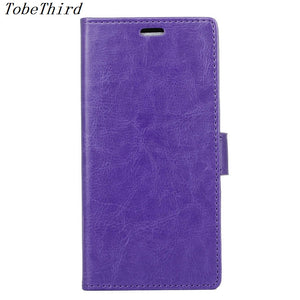 For LG Q6 Case Wallet Stand Crazy Horse Leather Folio Flip Case Cover for LG Q6 / Q6 Plus Mobile Phone Accessories - leathernbags