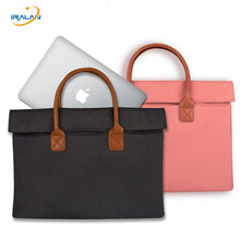 New briefcase Bag Computer Sleeve Case For Macbook AIR PRO Retina Touch Bar 11 12 13 15 inch portable Notebook 14 13.3 inch Bag