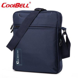 Cool Bell 10 10.6 inch Tablet Laptop Bag for iPad 2/3 /4 iPad Air 2/3 Men Shoulder Laptop Messenger Bag Small Crossbody Bag - leathernbags