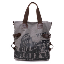 Fashion Women Canvas Handbag Casual Big Tote Bag Designer Handbags High Quality Crossbody Bags For Women Ladies Hand Bags - leathernbags