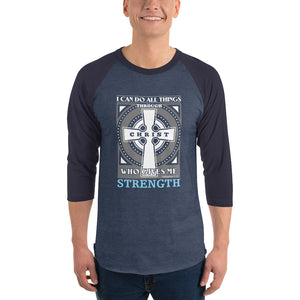 I can do all things Philippians 4:13 Christian Raglan Shirt