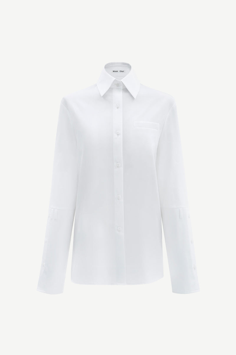 White back pocket shirt