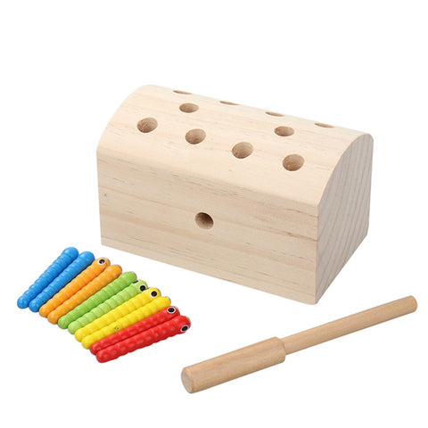 Kids Wooden Magnetic Learning Play setkids