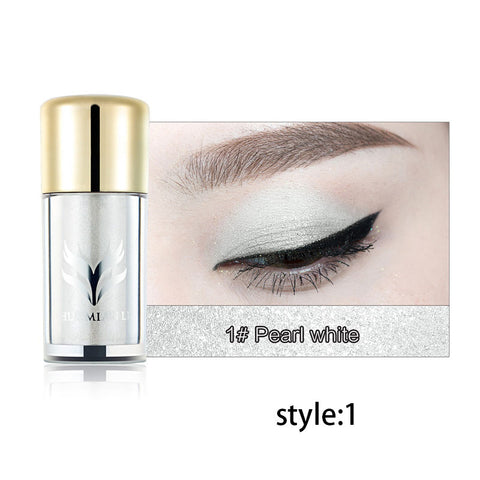 6 Color Shimmer Glitter Single Illusion Eye Shadow Gold White Highlight Eyeshadow Powder MakeupCosmetics