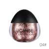 6 Colors Glitter Eyeshadow Shimmer Pigment Loose Powder Cosmetic Eye Shadow Beauty Makeup ToolsCosmetics