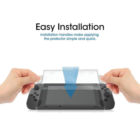 Gasky Ultra Clear HD PET Film Screen Protector Anti-Scratch for Nintendo Switch New Accessories