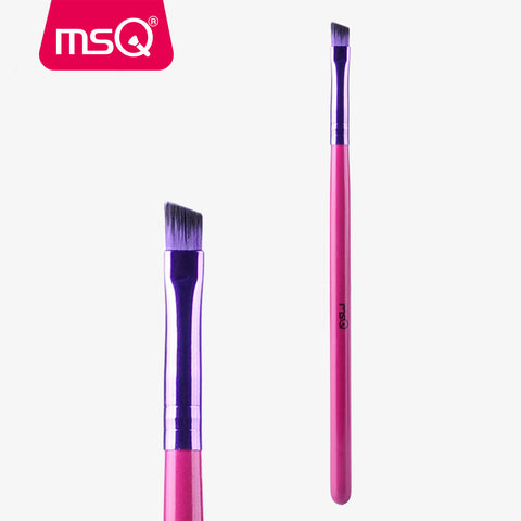 MSQ Makeup Brush Eyeliner Eyebrow Brush Makeup Brushes Tool Angled Beauty Makeup tool Women Pro Cosmetics Make Up Free Shipping