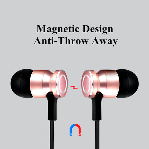 Magnetic Bluetooth Headphones, BlueTooth Music Headset MagneticElectronics