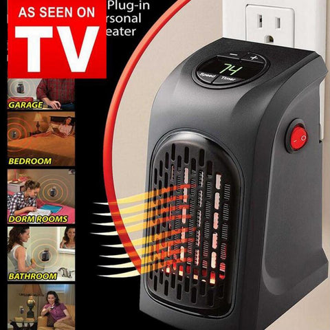 As seen on TV Home heater electrical wall socket plug in wall heater 350vHome