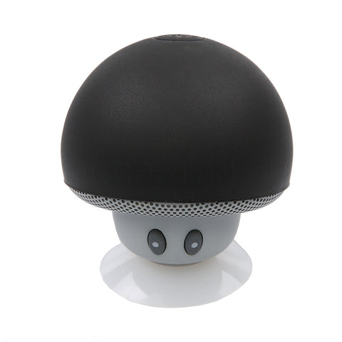Mini Mushroom Wireless Bluetooth Speaker Portable Waterproof Shower Stereo Subwoofer Music Player For iPhone Mobile Phone TaElectronics