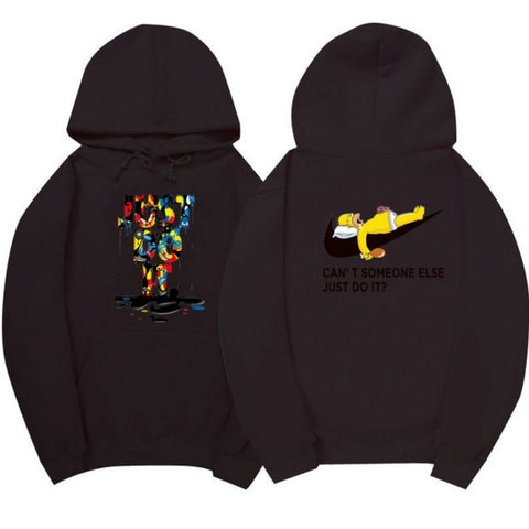 "The SimpsonsHomer Hoodie ""Can't someone else just do it?""Clothing"