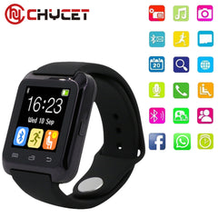 Smartwatch Bluetooth Smart Watch U80 for iPhone IOS Android Smart Phone Wear Clock Wearable Device Smartwach PK U8 GT08 DZ09Electronics
