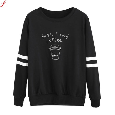 Spring Autumn Sweatshirts Women Fashion long Sleeve Blouse Letter Print Sweatshirt Pullovers Solid Warm Hoodies for Women LadiesClothing