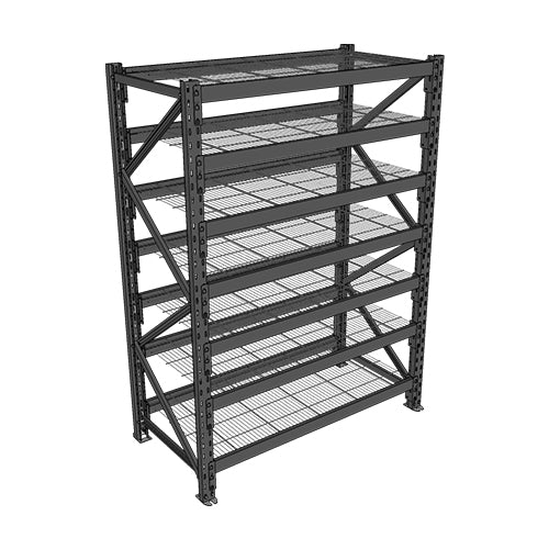 Long Span Shelving-Starter Bay-7 levels