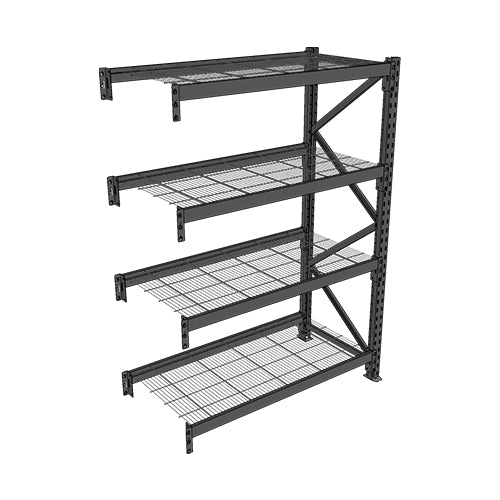 Long Span Shelving-Add On Bay-4 levels