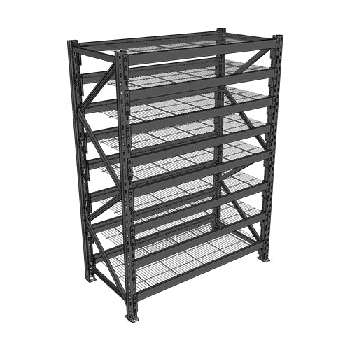 Long Span Shelving-Starter Bay-8 levels