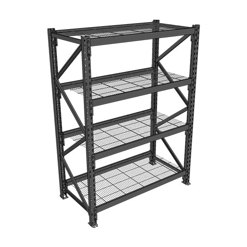 Long Span Shelving-Starter Bay-4 levels