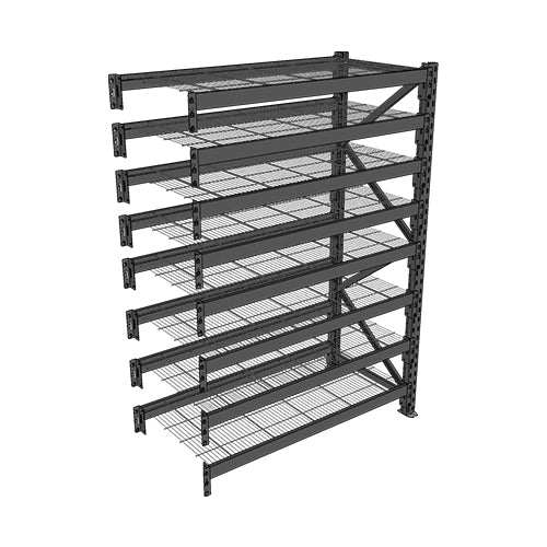 Long Span Shelving-Add On Bay-8 levels