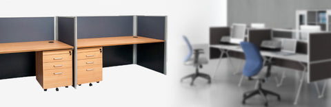 2 PERSON WORKSTATION - Beech