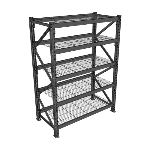 Long Span Shelving-Starter Bay-5 levels